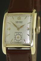 Pre-Owned GRUEN 10KT GOLD FILLED VERI-THIN