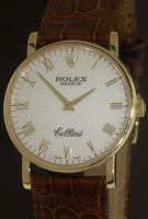 Pre-Owned ROLEX 18KT GOLD CELLINI MANUAL WIND