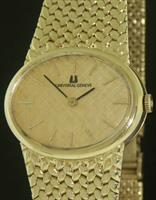 Pre-Owned UNIVERSAL GENEVE 14KT SOLID GOLD MANUAL WIND