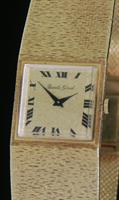 Pre-Owned BUECHE GIROD 18KT GOLD MANUAL WIND FP21