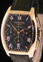 Pre-Owned LONGINES EVIDENZA 18KT ROSE GOLD CHRONO