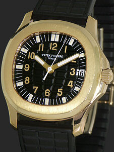 Pre-Owned PATEK PHILIPPE AQUANAUT 18KT GOLD