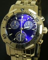 Pre-Owned TISSOT PRS200 CHRONO CLASSIC BLUE