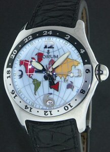 Pre-Owned CORUM DUAL TIME AUTOMATIC