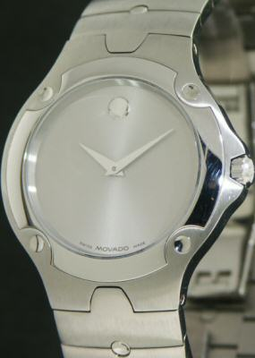 Pre-Owned MOVADO SILVER DIAL SE