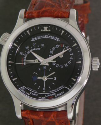 Pre-Owned JAEGER LECOULTRE MASTER GEOGRAPHIC