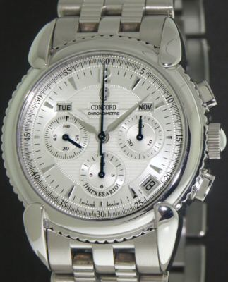 concord impresario chronograph 14 g9 210 pre owned mens watches