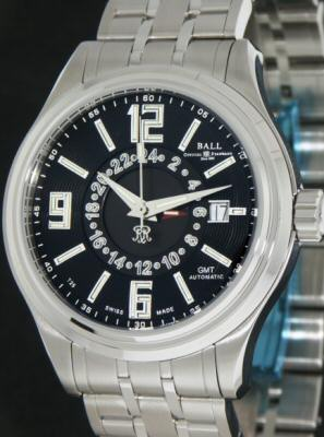 Pre-Owned BALL TRAINMASTER VOYAGER GMT