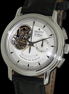 Pre-Owned ZENITH CHRONOMASTER OPEN HEART