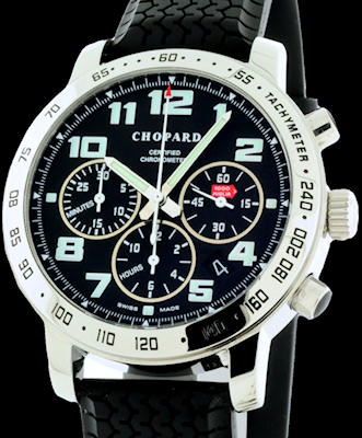 Pre-Owned CHOPARD MILLE MIGLIA BLACK CHRONOGRAPH