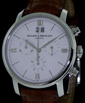 f232374c02b Baume   Mercier Classima Big Date Chronograph moa08612 - Pre-Owned Mens  Watches
