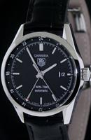 Pre-Owned TAG HEUER CARRERA TWIN-TIME AUTOMATIC