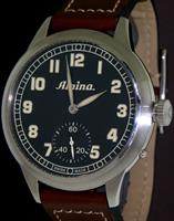 Pre-Owned ALPINA PILOT HERITAGE MANUAL WIND
