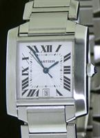 Pre-Owned CARTIER TANK FRANCAISE AUTOMATIC
