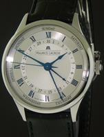 Pre-Owned MAURICE LACROIX MASTERPIECE 5HANDS SILVER/BLUE