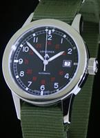 Pre-Owned LONGINES HERITAGE MILITARY BLACK DIAL