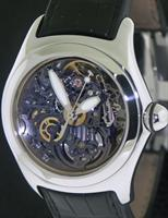Pre-Owned CORUM BUBBLE BLACK SKELETON