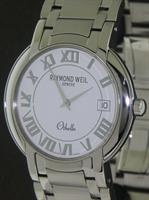 Pre-Owned RAYMOND WEIL OTHELLO ALL STEEL W/BRACELET