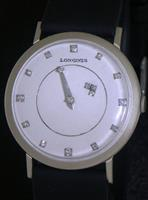 Pre-Owned LONGINES 14KT GOLD MYSTERY CAL 19.4