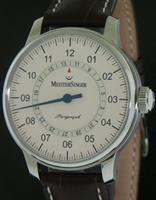 Pre-Owned MEISTERSINGER SINGLE HAND WITH DATE IVORY