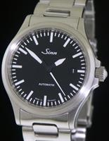 Pre-Owned SINN BLACK DIAL CLASSIC AUTOMATIC