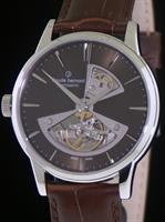 Pre-Owned CLAUDE BERNARD OPEN HEART AUTOMATIC BROWN