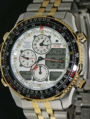 Pre-Owned CITIZEN NAVIHAWK WORLD