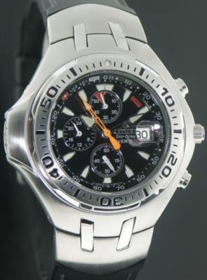 Pre-Owned CITIZEN AQUALAND DIVER`S