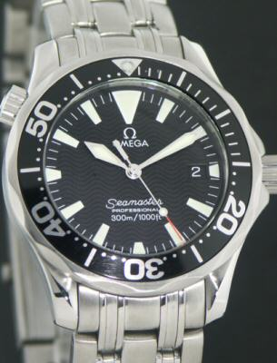 Omega Seamaster 18kt/Steel 2381.21.00 - Pre-Owned Ladies Watches