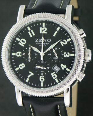 Pre-Owned ZENO QUARTZ CHRONOGRAPH