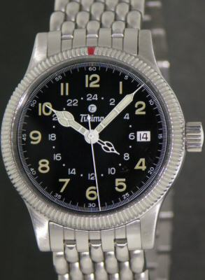 Pre-Owned TUTIMA FLIEGER GMT 36.5MM