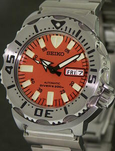 Pre-Owned SEIKO ORANGE MONSTER AUTOMATIC