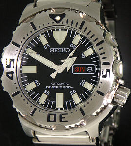 Pre-Owned SEIKO BLACK MONSTER AUTOMATIC