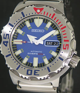 Pre-Owned SEIKO BLUE MONSTER