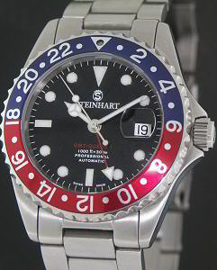 Steinhart Gmt Ocean 1 223 12636 Pre Owned Mens Watches