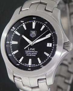 Tag Heuer Link Chronometer 223 12657 Pre Owned Mens Watches