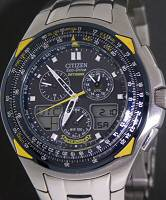 Pre-Owned CITIZEN BLUE ANGELS SKYHAWK ECO-DRIVE