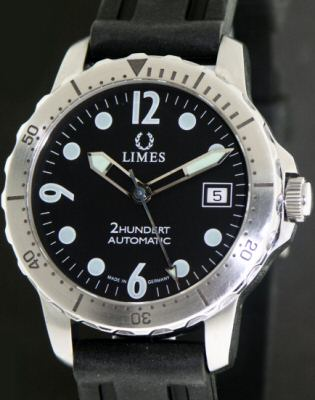 Pre-Owned LIMES 2HUNDERT AUTOMATIC DIVER