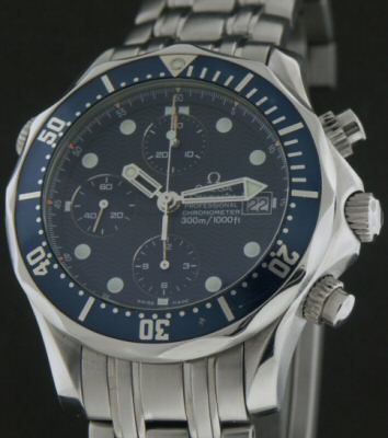 Pre-Owned OMEGA SEAMASTER CHRONO JAMES BOND