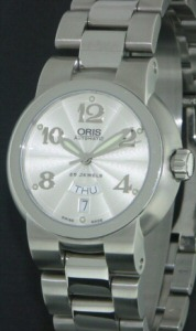 Pre-Owned ORIS TT1 DAY/DATE MIDSIZE