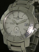 Pre-Owned BAUME & MERCIER CAPELAND AUTOMATIC SILVER DIAL