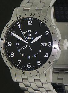 Pre-Owned TUTIMA FX UTC 24 HOUR BEZEL