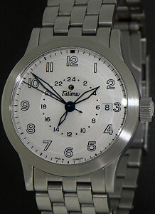 Pre-Owned TUTIMA FX PILOT UTC DUAL TIME