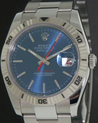 Pre-Owned ROLEX TURN-O-GRAPH WHITE ROLESOR