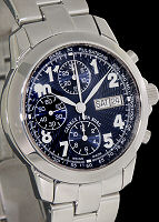 Pre-Owned GORGE J VON BURG AUTOMATIC BLUE CHRONO