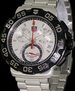 Pre-Owned TAG HEUER FORMULA 1 SILVER CHRONOGRAPH