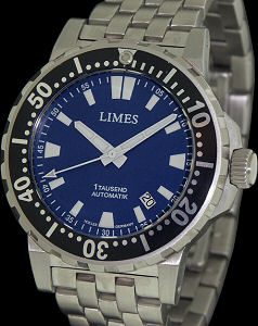 Pre-Owned LIMES 1TAUSEND ENDURANCE BLUE