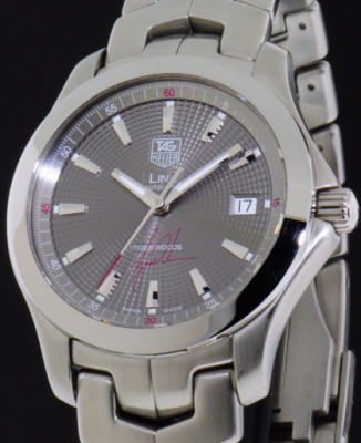 Tag heuer link tiger woods limited edition watch wjf2113. Ba0570.