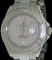 Pre-Owned ROLEX YACHT-MASTER STEEL W/PLATINUM