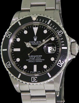 Pre-Owned ROLEX SUBMARINER TRANSITIONAL